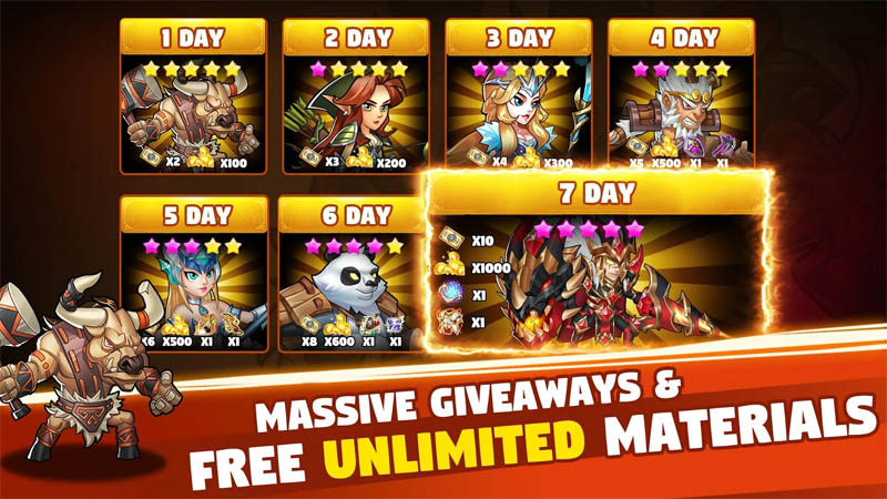 Brave Dungeon - Massive Giveaways and Free Unlimited Materials