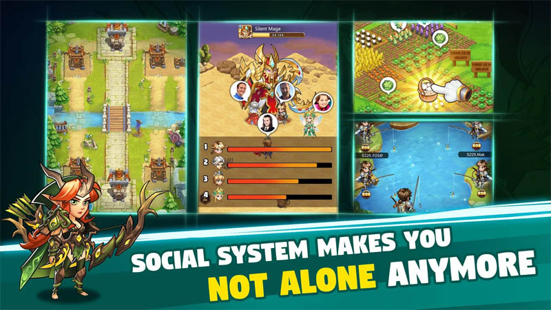 Brave Dungeon - Social System Makes You Not Alone Anymore
