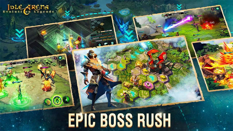 Idle Arena Evolution Legends - Epic Boss Rush