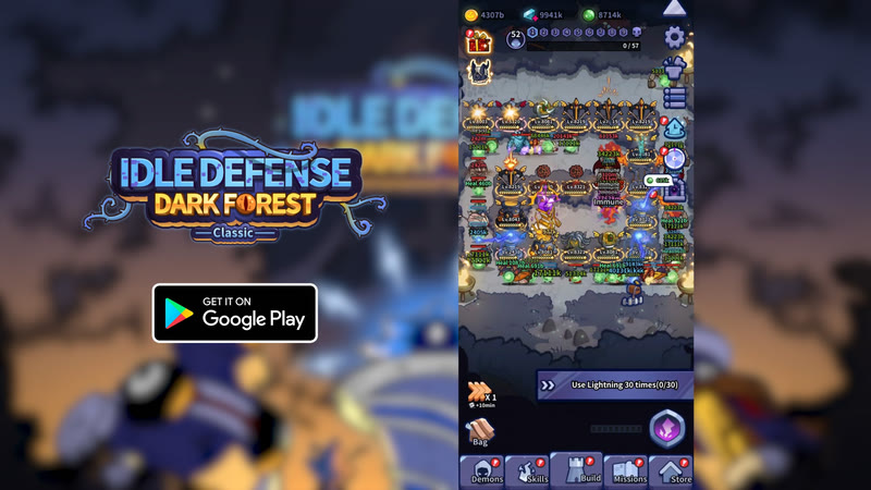 Idle Defense Dark Forest Classic