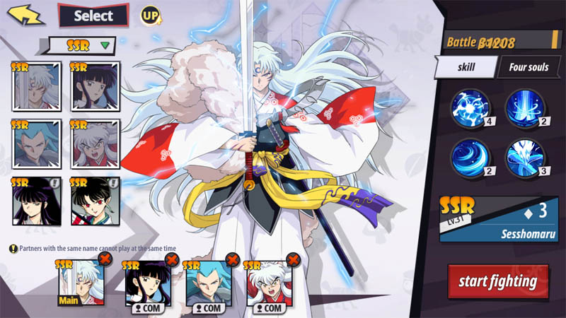 Inuyasha Awakening Indonesia - Screenshot Hero