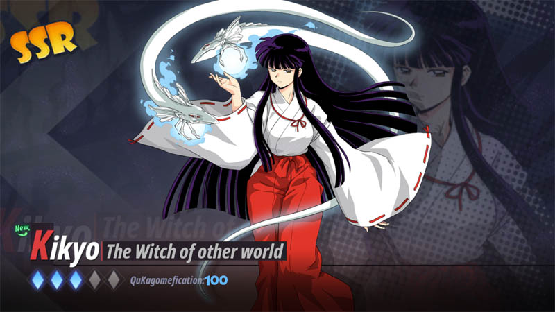 Inuyasha Awakening Indonesia - Screenshot Kikyo The Witch of other world SSR