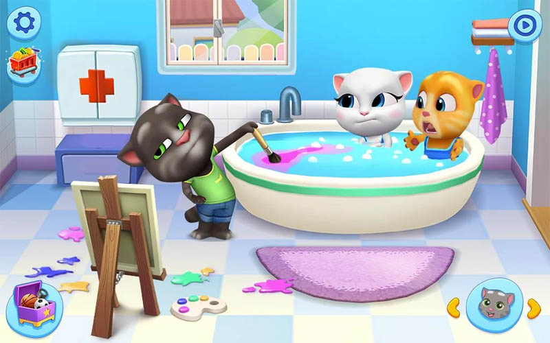 My Talking Tom Friends - Berendam