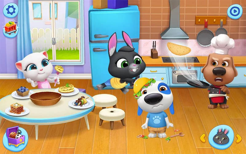 My Talking Tom Friends - Memasak