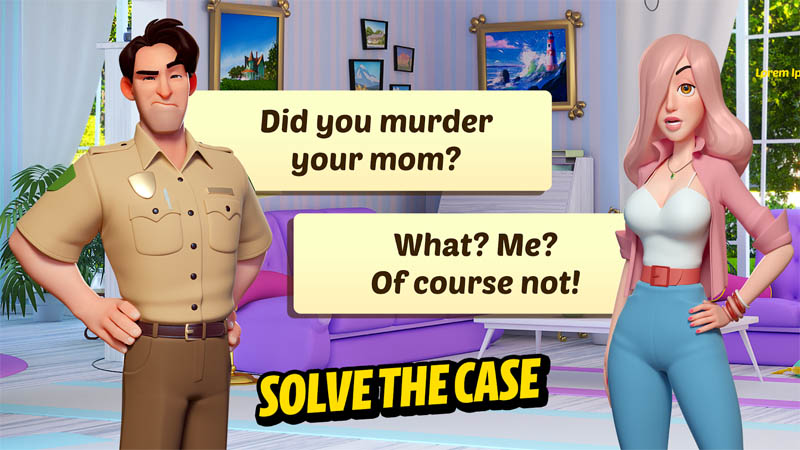 Small Town Murders - Solve The Case