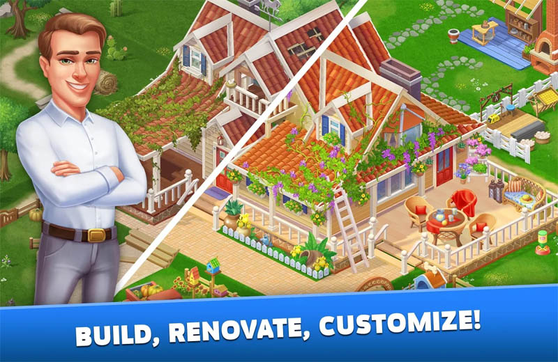 Solitaire Texas Village - Build Renovate Customize