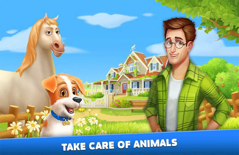 Solitaire Texas Village - Take Care of Animals