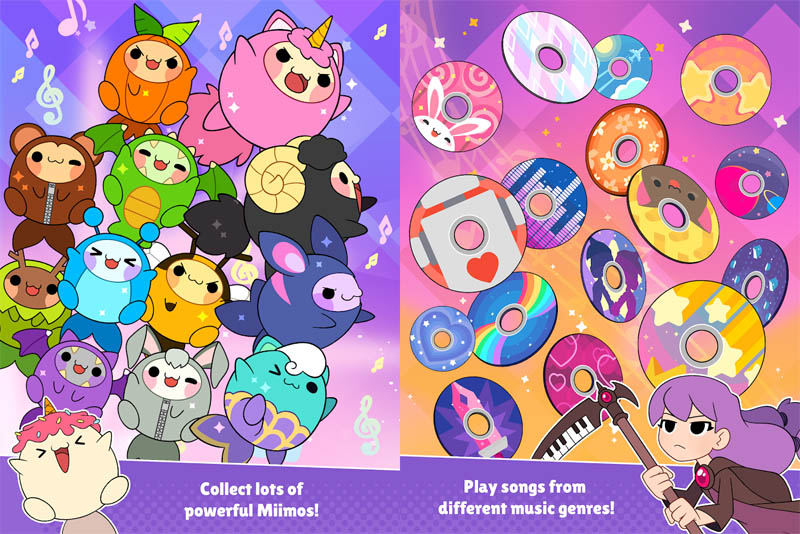 Sweet Sins Superstars - Collect lots of powerful Miimos Play songs from different music genres
