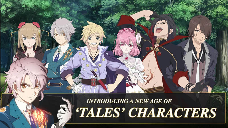 Tales of Crestoria - Introducing A New Age of Tales Characters