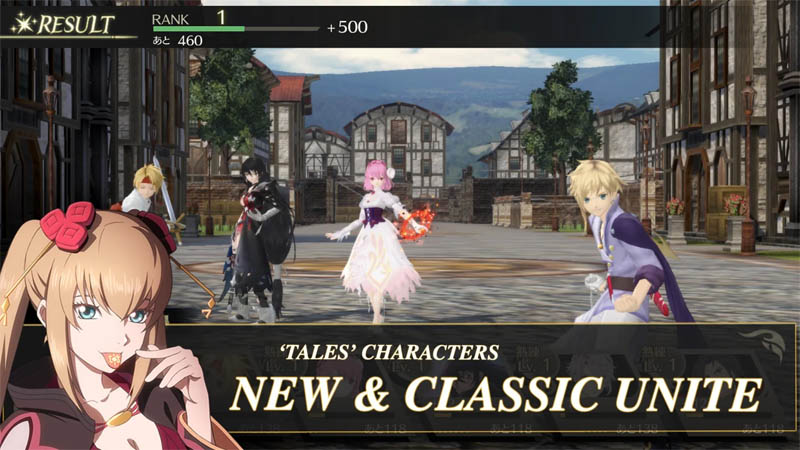 Tales of Crestoria - Tales Characters New and Classic Unite