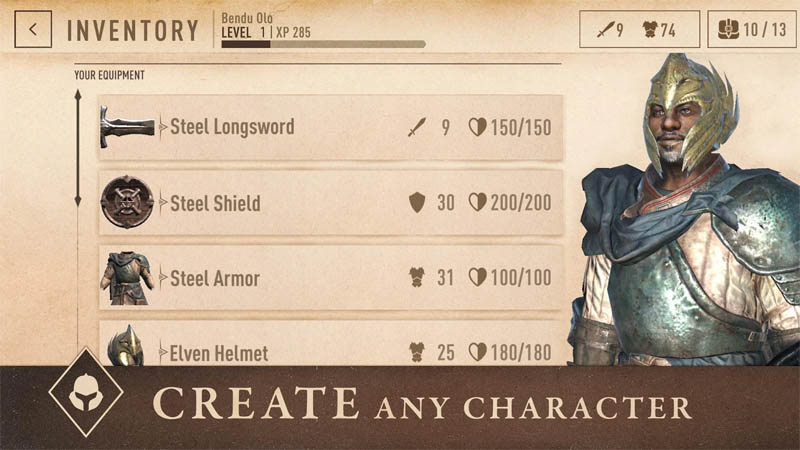 The Elder Scrolls Blades Asia - Create Any Character