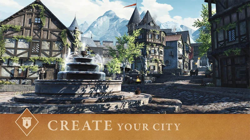 The Elder Scrolls Blades Asia - Create Your City