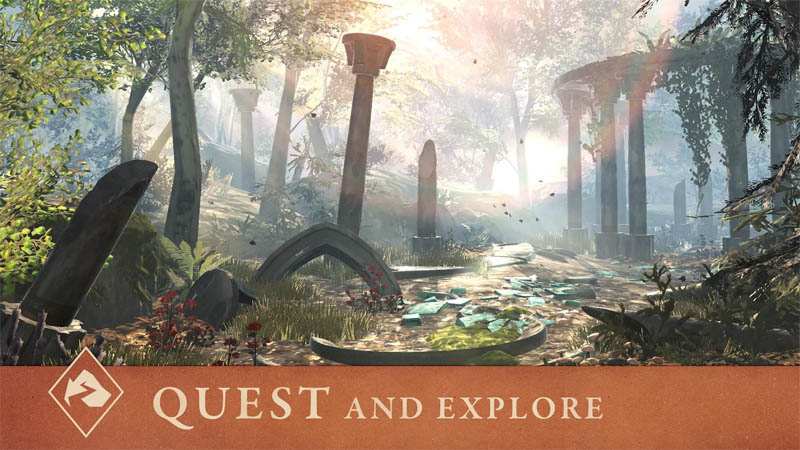 The Elder Scrolls Blades Asia - Quest And Explore