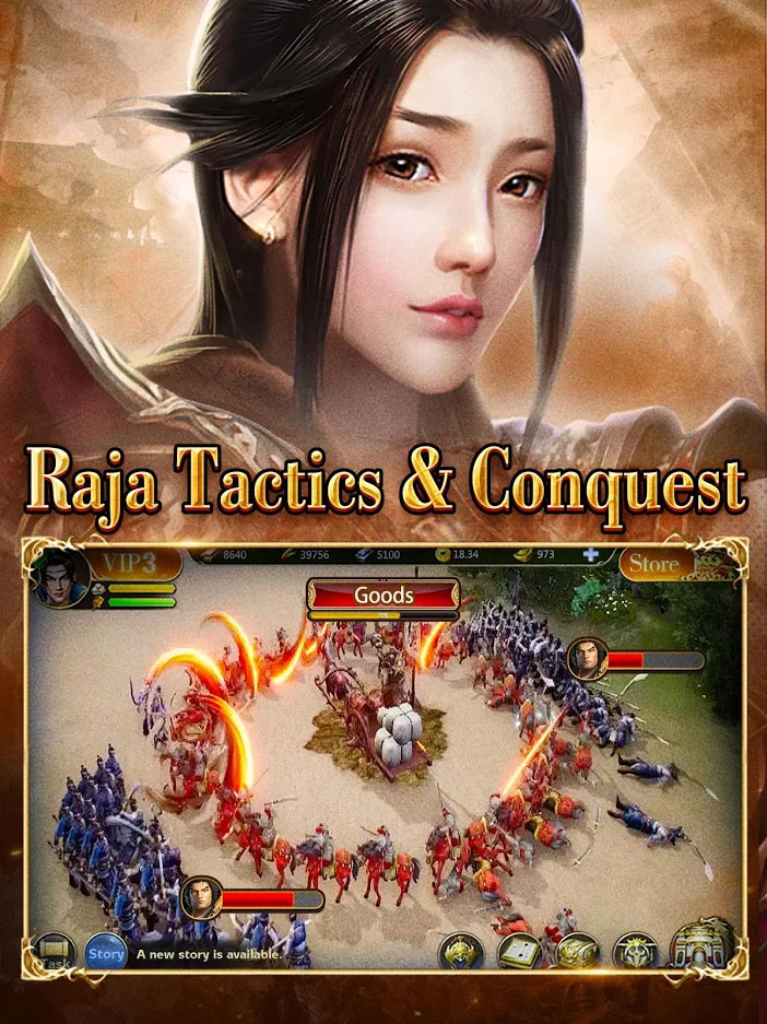 Three Kingdoms King Chaos - King of Tactics and Conquest
