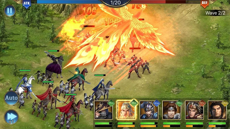 Three Kingdoms King Chaos - Screenshot