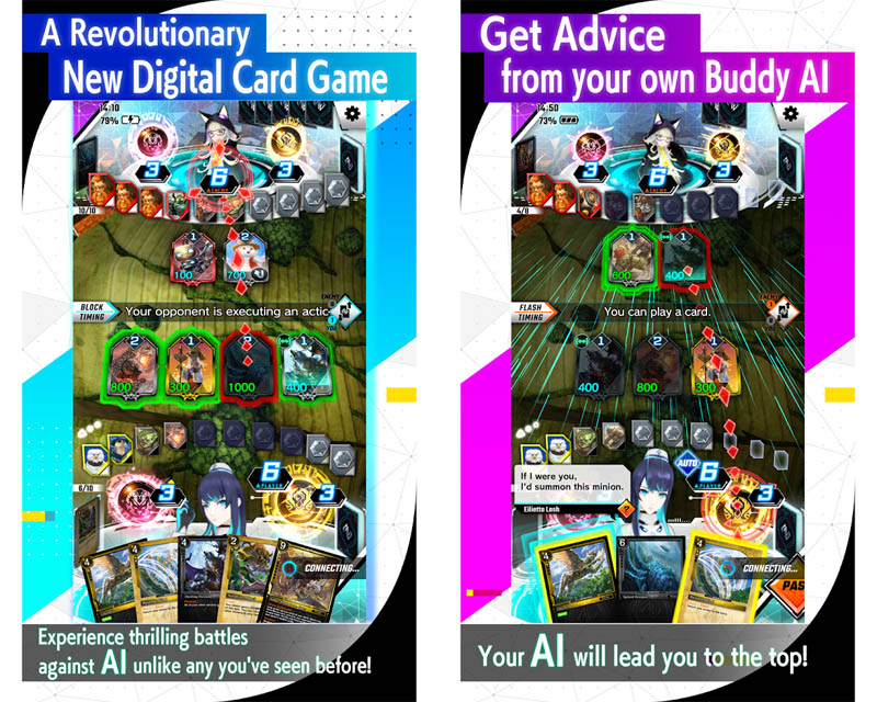 ZENONZARD Artificial Card Intelligence - New Digital Card Game Get Advice from own Buddy AI