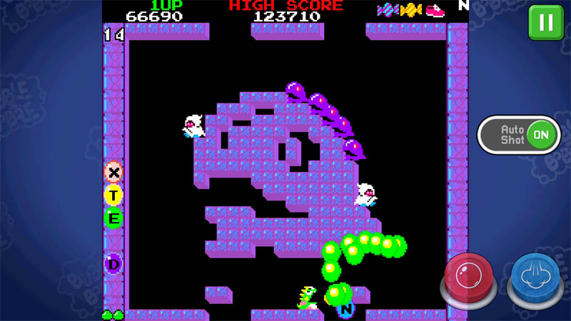 BUBBLE BOBBLE classic - Screenshot 2