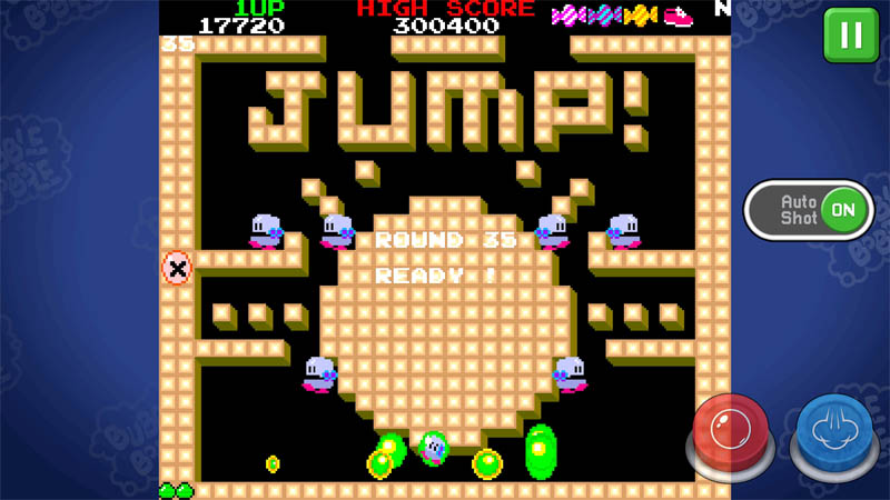 BUBBLE BOBBLE classic - Screenshot 3