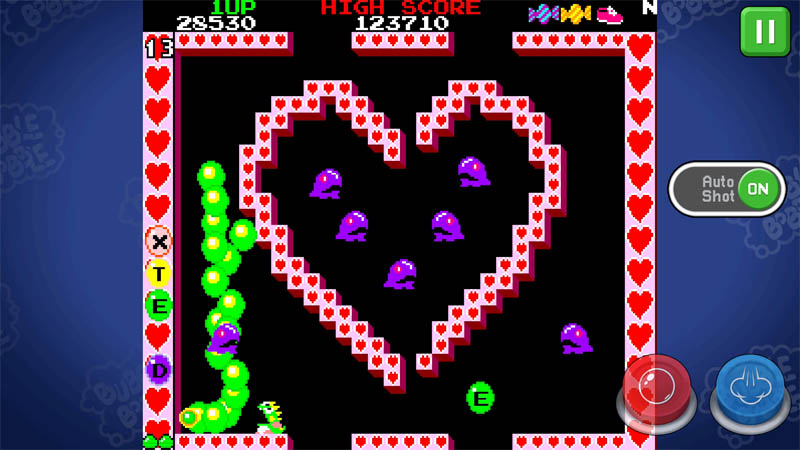 BUBBLE BOBBLE classic - Screenshot 4