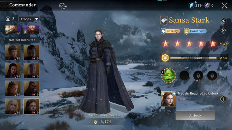 Game of Thrones Winter Is Coming - Screenshot 1