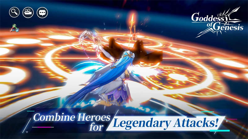 Goddess of Genesis - Gabungkan Hero Untuk Legendary Attacks