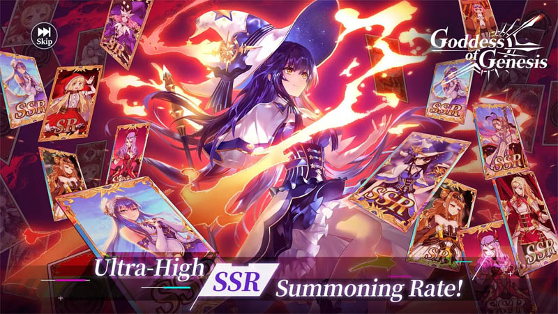 Goddess of Genesis - Rate Summon SSR Sangat Tinggi