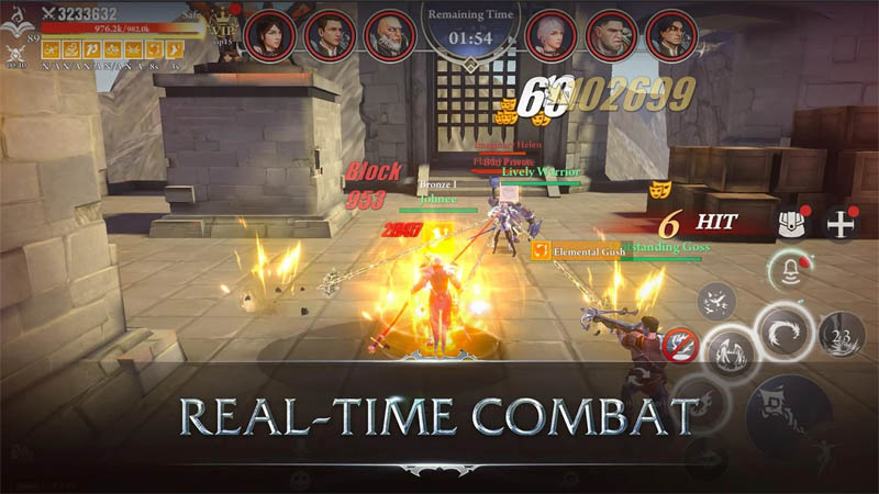 League of Valhalla - Combat Real Time