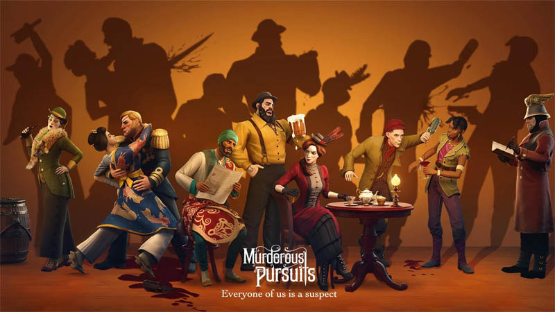 Murderous Pursuits - Everyone of us is a suspect