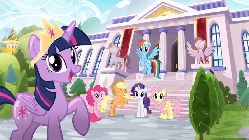 Game Mobile My Little Pony Color Dari By Magic Budge Studios Telah Dirilis