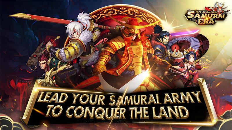 Samurai Era Rise of Empires - Lead Your Samurai Army To Conquer The Land