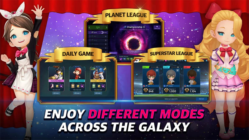 Baseball Superstars 2020 - Enjoy  Different Modes Across The Galaxy