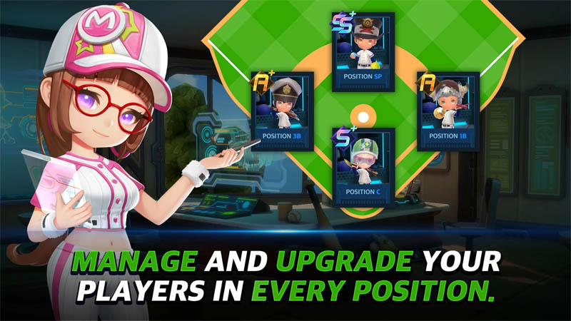 Baseball Superstars 2020 - Manage and Upgrade Your Players in Every Position