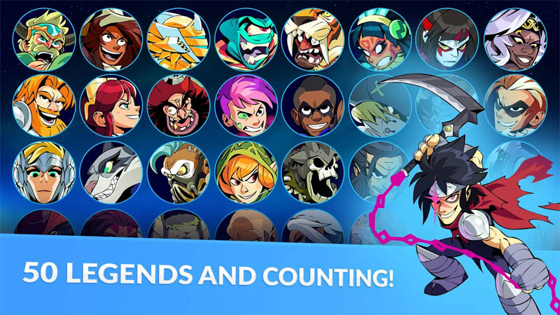 Brawlhalla - 50 Legends and Counting