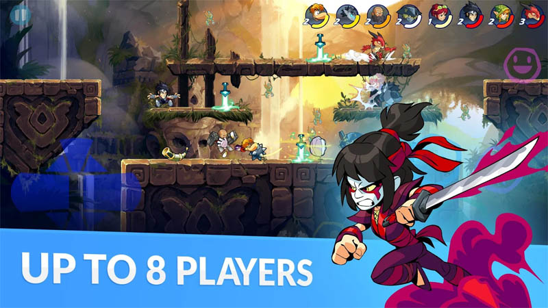 Brawlhalla - Up To 8 Players