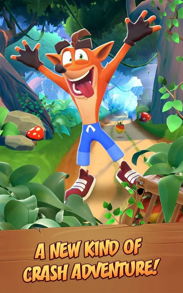 Crash Bandicoot On The Run - Petualangan Crash Baru