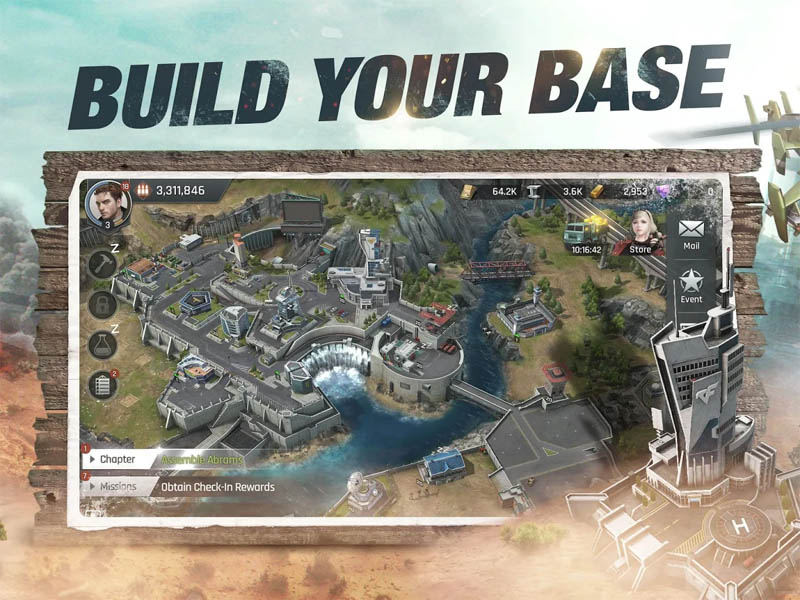 CrossFire Warzone - Build Your Base