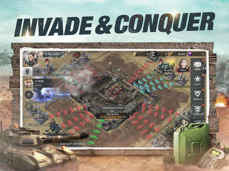 CrossFire Warzone - Invade and Conquer