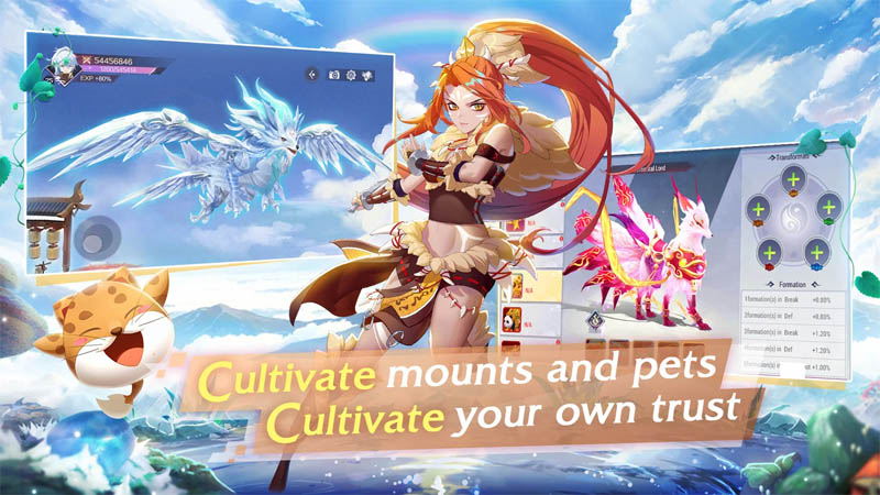 Goddess MUA - Cultivate mounts and pets Cultivate your own trust