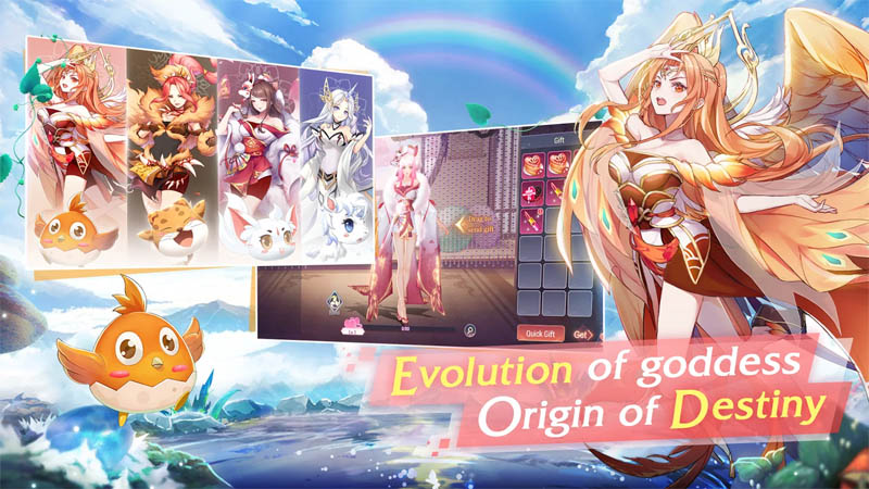 Goddess MUA - Evolution of goddess Origin of Destiny
