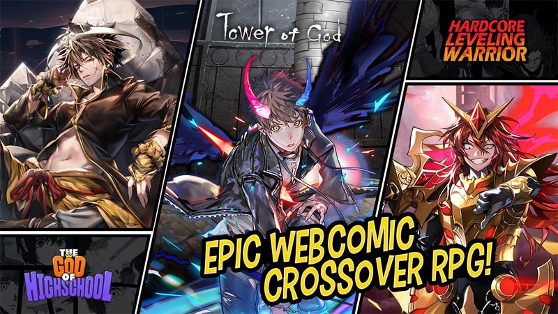 Hero Cantare with WEBTOON - Epic Webcomic Crossover RPG