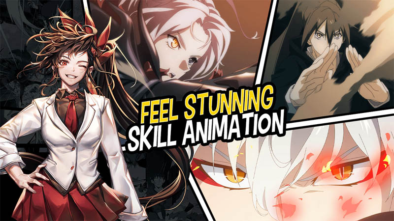 Hero Cantare with WEBTOON - Feel Stunning Skill Animation