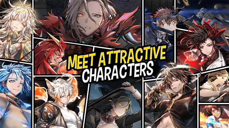 Hero Cantare with WEBTOON - Meet Attractive Characters
