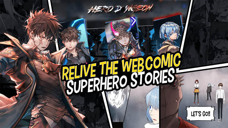 Hero Cantare with WEBTOON - Relive The Webcomic Superhero Stories