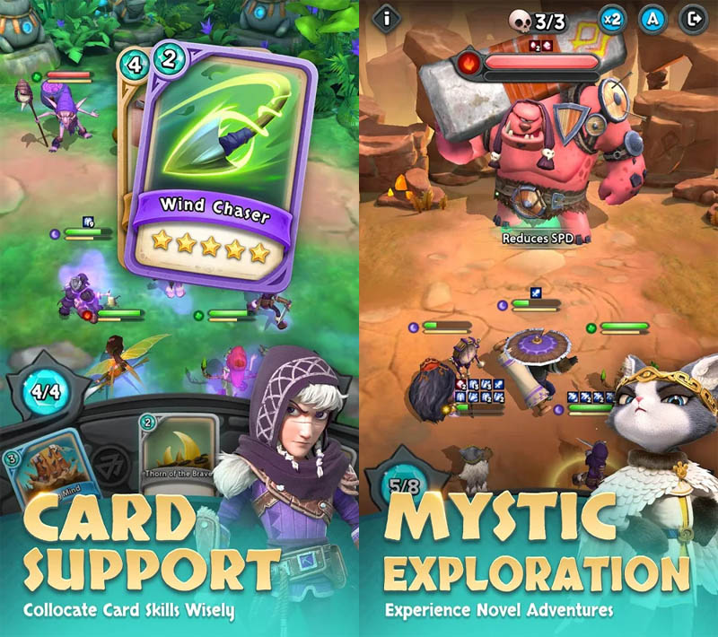 Heroic Expedition - Card Support Mystic Exploration