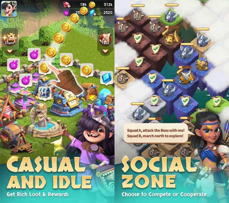 Heroic Expedition - Casual Dan Idle Social Zone