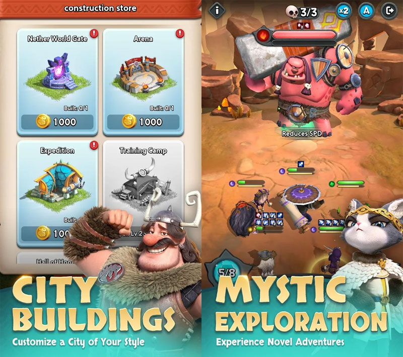 Heroic Expedition - City Buildings