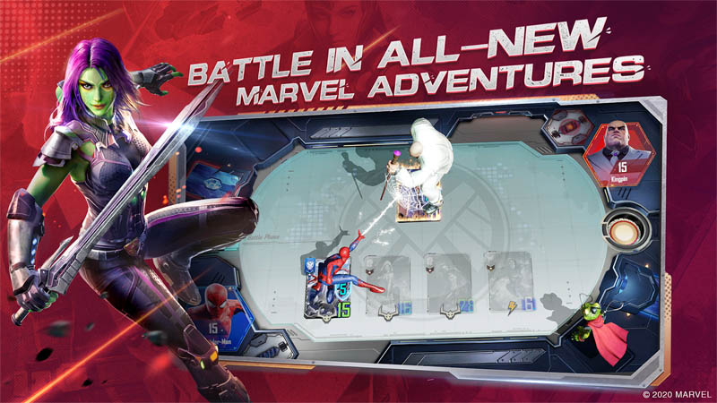 MARVEL Duel - Bertarung di All New Marvel Adventures
