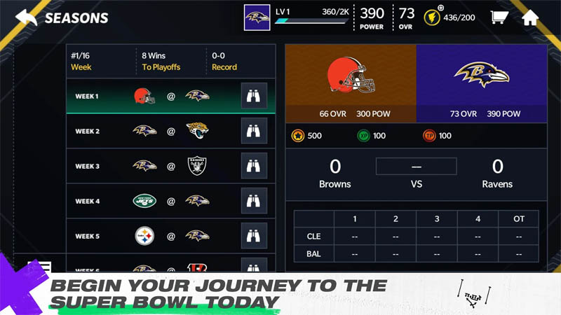 Madden NFL 21 Mobile Football - Begin Your Journey To The Super Bowl Today