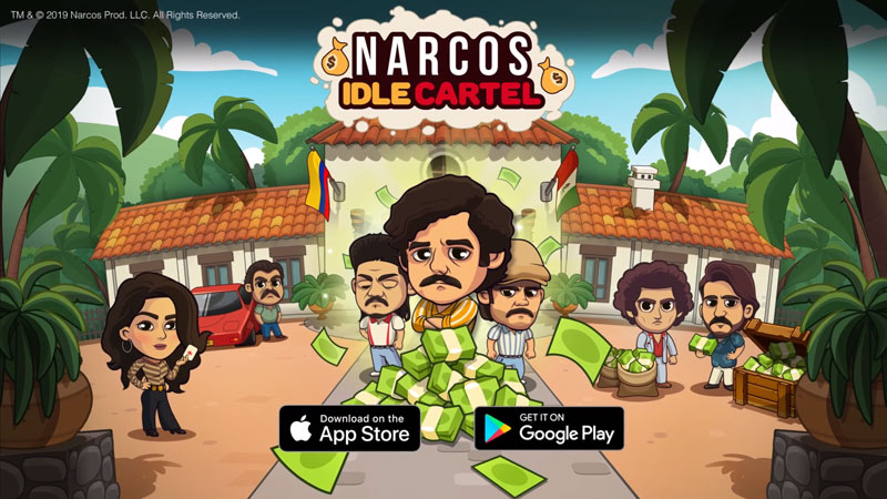 Narcos Idle Cartel