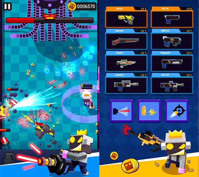 ROBO BLASTER Screenshot 2